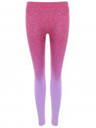Ombre Color Yoga Leggings -