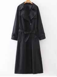 Slimming Double Breasted Maxi Long Trench Coat