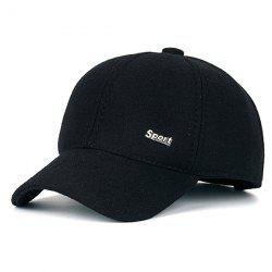 Warm Alloy Sport Label Felt Baseball Hat -