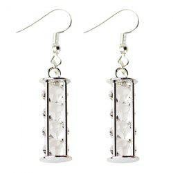 Rhinestone Geometric Beads Earrings -