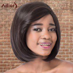 Adiors Short Bob Straight Side Parting Synthetic Wig -