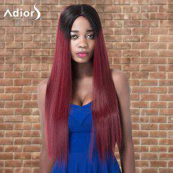 Adiors Long Straight Ombre Centre Parting Synthetic Wig -
