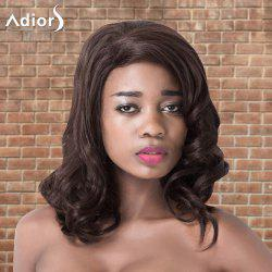 Adiors Medium Shaggy Wavy Side Parting Synthetic Wig