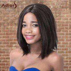 Adiors Medium Shaggy Straight Centre Parting Synthetic Wig