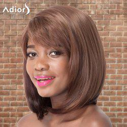 Adiors Medium Side Bang Straight Bob Colormix Synthetic Wig