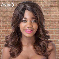 Adiors Long Side Parting Wavy Colormix Synthetic Wig
