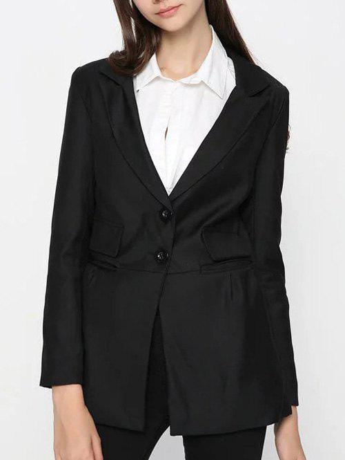 Hot Two Button Classic Long Blazer