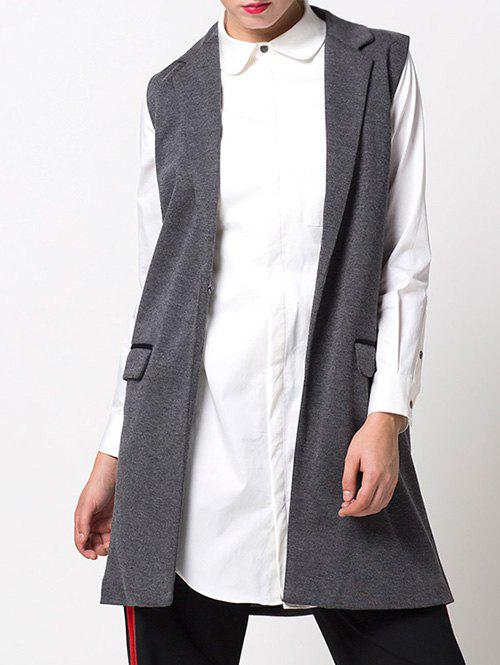 Sale One-Button Fitting Waistcoat