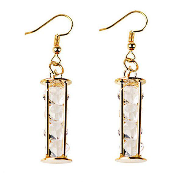 Best Rhinestone Geometric Beads Earrings