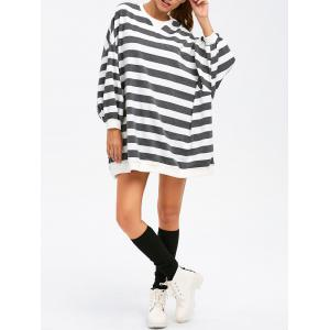BF Style Striped Sweatshirt -