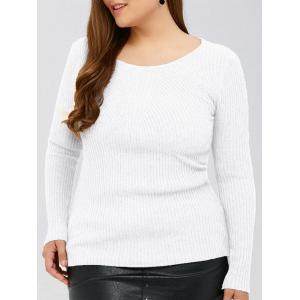 Slim Fit Ribbed Knitwear