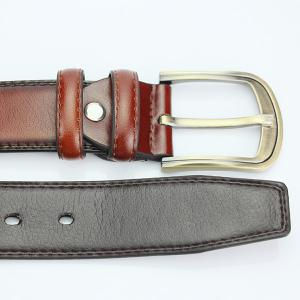 Brief Pin Buckle PU Wide Belt -