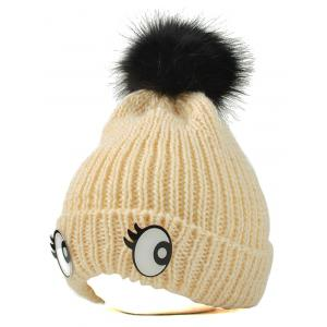 Winter Knitting Patterns Eyes Pom Hat