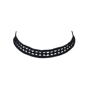 Geometry Hollow Out Lace Choker Necklace