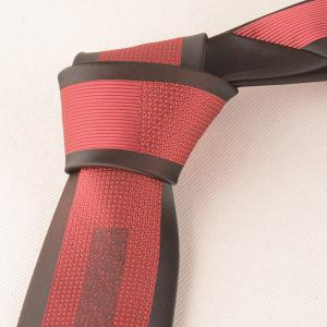 Retro Polyester Geometry Jacquard Neck Tie -