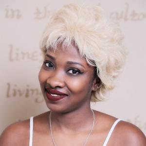 Short Fluffy Curly Synthetic Wig - LIGHT GOLD