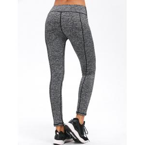 Skinny Striped Exercise Pants -