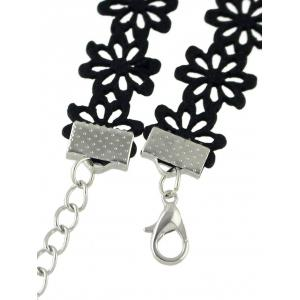 Butterfly Floral Hollow Out Choker -