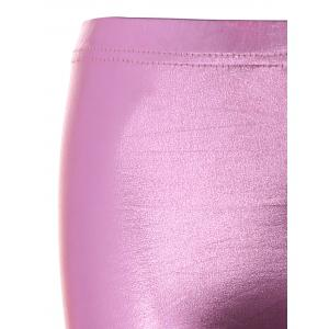 Gilding Faux Leather Leggings -