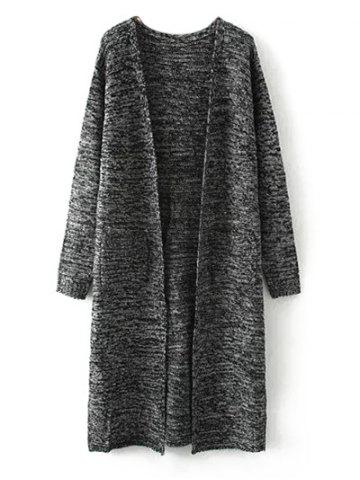 Latest Marled Pocket Long Cardigan