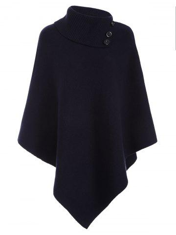 Hot Asymmetric Pullover Cashmere Cape
