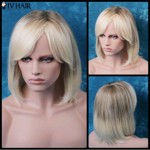 Sale Siv Oblique Bang Short Straight Bob Human Hair Wig