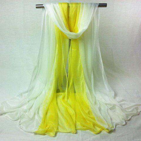 Best Outdoor Double Color Chiffon Long Scarf