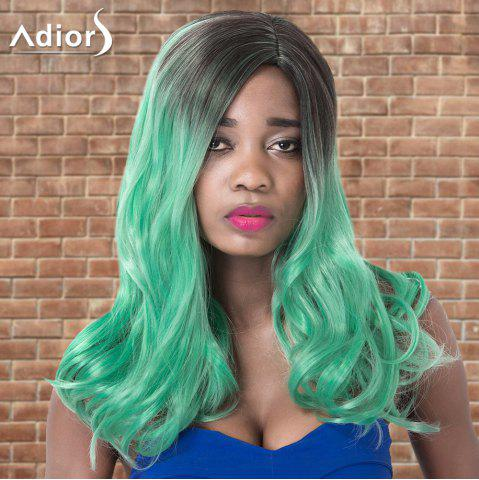 Shop Adiors Long Side Parting Wavy Ombre Cosplay Synthetic Wig