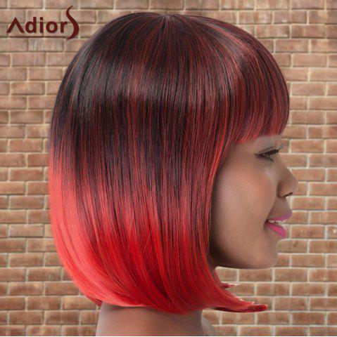 Store Adiors Short Colormix Neat Bang Straight Bob Cosplay Synthetic Wig - MULTICO  Mobile