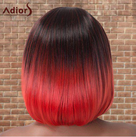 Shop Adiors Short Colormix Neat Bang Straight Bob Cosplay Synthetic Wig - MULTICO  Mobile