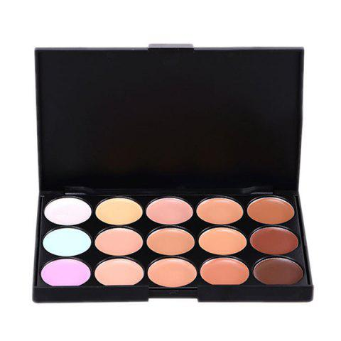 Online 15 Colours Foundation Concealer Makeup Palette