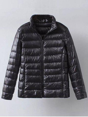 Buy Zip Up Casual Down Jacket