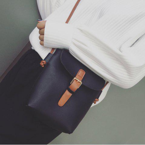 Outfit Belt Buckle Magnetic Closure Crossbody Bag