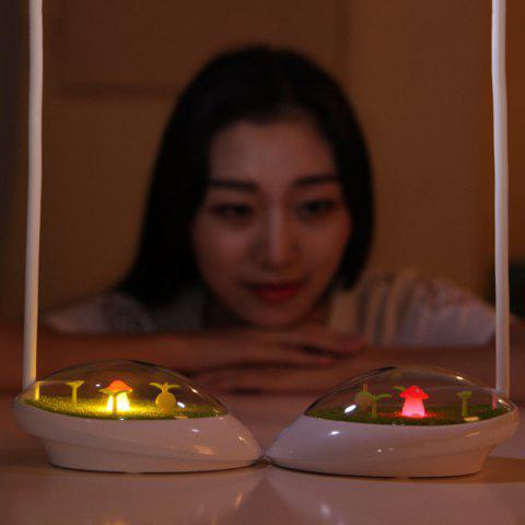 Online Portable Adjustable Eye Protection Micro Landscape LED Night Light - YELLOW  Mobile