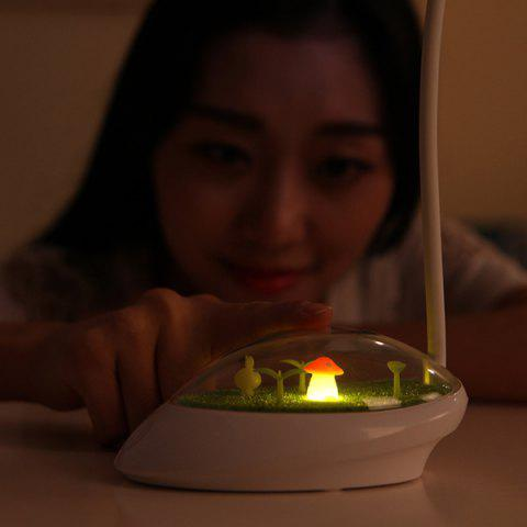 Discount Portable Adjustable Eye Protection Micro Landscape LED Night Light - YELLOW  Mobile