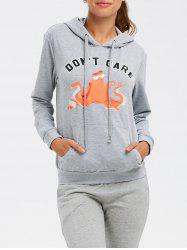 Front Pocket Pullover Hoodie -