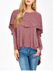 Overlay High Low Hem T-Shirt