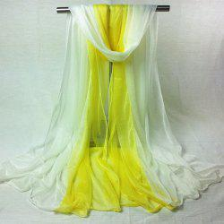 Outdoor Double Color Chiffon Long Scarf -