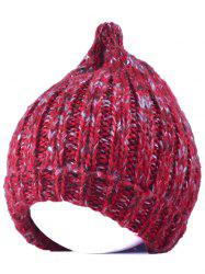 Winter Knitting Patterns Chunky Crochet Tapered Hat -
