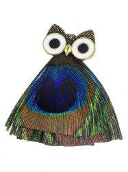 Owl Animal Enamel Brooch