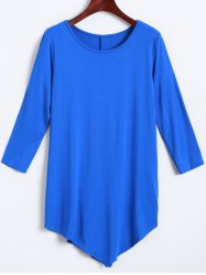 Irregular Loose Long Sleeve T-Shirt