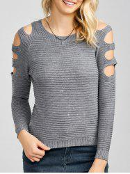 Slim Knit Hollow Out Sweater