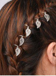 5 PCS Leaves Hair Accessory