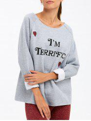 Je suis Terrific Sweatshirt -