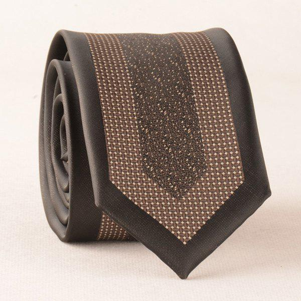 Outfits Retro Polyester Geometry Jacquard Neck Tie