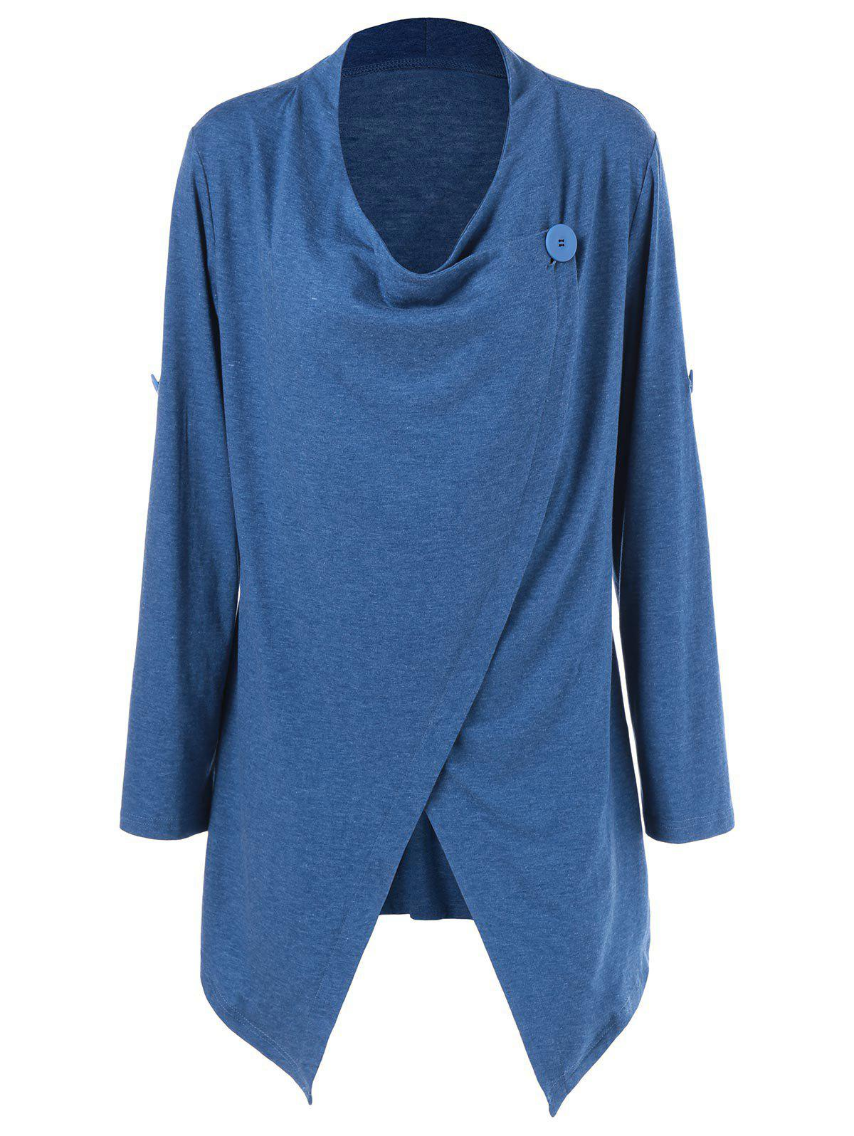 Outfit Overlap Adjustable Sleeve T-Shirt