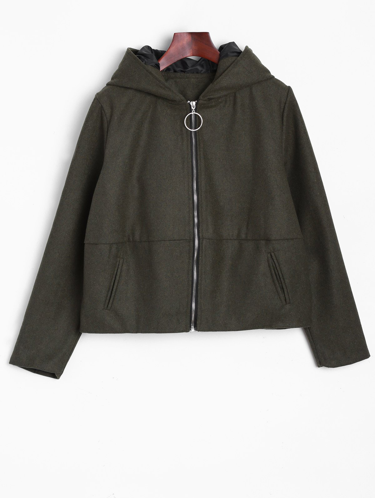 Oreilles Hooded Bomber Jacket