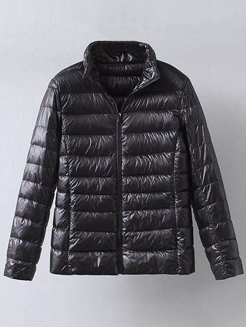 Latest Zip Up Casual Down Jacket