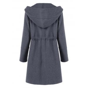 Big Pockets Hooded Coat -