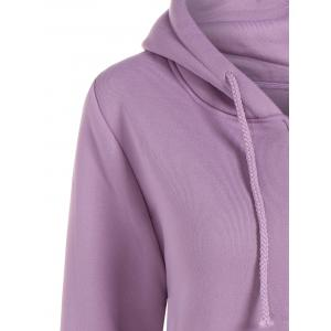 Hooded Kangaroo Pocket Jacket -